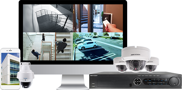 Complete CCTV Security Camera System Installation